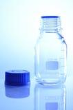 Bottiglia per scienza chimica immagini stock