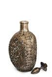 Bottiglia per vino (con il percorso di residuo della potatura meccanica) Immagine Stock
