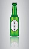 Bottiglia realistica di vettore Fotografia Stock