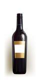 Bottiglia realistica di vino Immagine Stock Libera da Diritti