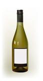 Bottiglia realistica di vino Immagini Stock Libere da Diritti