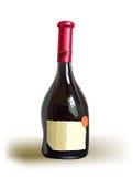 Bottiglia realistica di vino dolce Immagine Stock Libera da Diritti
