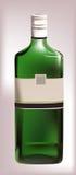 Bottiglia realistica di vino dolce Fotografia Stock Libera da Diritti