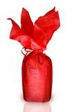 Bottiglia rossa Fotografie Stock