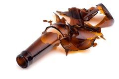 Bottiglia rotta - paesaggio Fotografie Stock