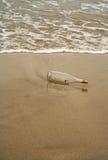 Bottiglia senza messaggio Fotografia Stock