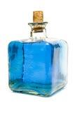 Bottiglia tradizionale decorativa con acqua Fotografie Stock Libere da Diritti