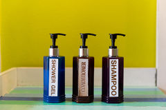 Bottiglia tre Fotografia Stock Libera da Diritti