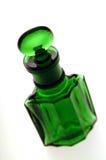 Bottiglia verde immagini stock