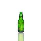 Bottiglia verde Fotografia Stock Libera da Diritti