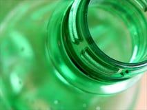 Bottiglia di plastica aperta Immagini Stock