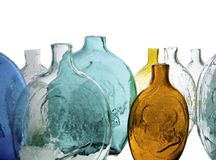 Bottiglie antiche Immagini Stock Libere da Diritti