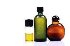 Bottiglie artificiali di colore di alimento Immagini Stock