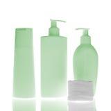 Bottiglie cosmetiche Fotografie Stock Libere da Diritti