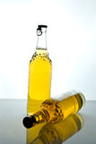 Bottiglie da birra Immagini Stock