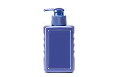 Bottiglie dei prodotti di bellezza e di salute Immagine Stock Libera da Diritti