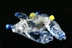 Bottiglie dei rifiuti Fotografia Stock Libera da Diritti