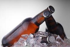 Bottiglie del Brown immagine stock libera da diritti