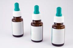 bottiglie del Occhio-contagoccia Fotografia Stock