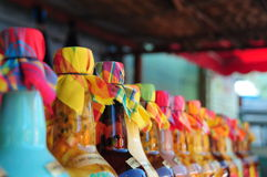 Bottiglie del punzone Immagine Stock