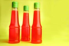 Bottiglie del sapone Fotografie Stock