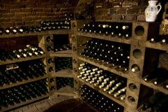 Bottiglie del vino di alta qualità Fotografia Stock