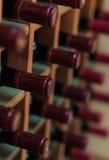 Bottiglie del vino rosso Immagini Stock Libere da Diritti