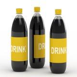 Bottiglie della bevanda illustrazione di stock