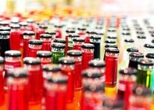 Bottiglie della bevanda Immagine Stock Libera da Diritti