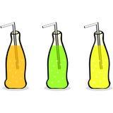 Bottiglie della bibita royalty illustrazione gratis