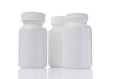Bottiglie della droga Fotografie Stock Libere da Diritti