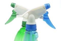 Bottiglie dello spruzzo Fotografie Stock Libere da Diritti