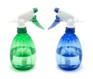 Bottiglie dello spruzzo Immagine Stock Libera da Diritti
