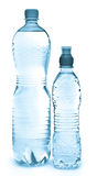 Bottiglie di acqua Immagini Stock