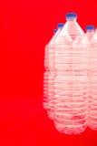 Bottiglie di acqua Fotografie Stock Libere da Diritti