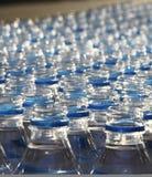 Bottiglie di acqua durante la maratona Immagine Stock Libera da Diritti