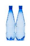 Bottiglie di acqua isolate Fotografie Stock Libere da Diritti