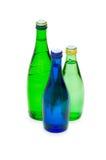 Bottiglie di acqua isolate Fotografia Stock Libera da Diritti