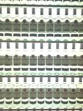 Bottiglie di Bacardi Immagini Stock Libere da Diritti