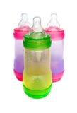 Bottiglie di bambino Fotografia Stock Libera da Diritti