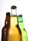 Bottiglie di birra fotografia stock