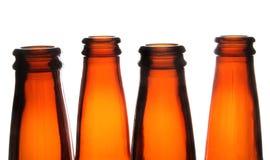 Bottiglie di birra Immagini Stock