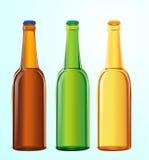 Bottiglie di birra illustrazione vettoriale
