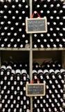 Bottiglie di Brunello di Montalcino Immagine Stock Libera da Diritti