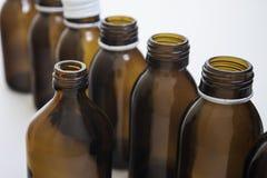 Bottiglie di chimica Fotografia Stock Libera da Diritti