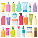 Bottiglie di colore Fotografia Stock