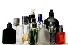 Bottiglie di fragranza e del profumo Fotografia Stock Libera da Diritti