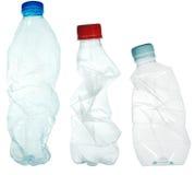 Bottiglie di plastica Fotografia Stock Libera da Diritti