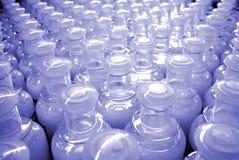 Bottiglie di plastica Fotografie Stock