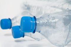 Bottiglie di plastica Immagini Stock